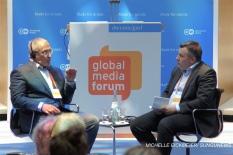 """The best way would be for Putin not to run for president in 2018."" – Mikhail Khodorkovsky. MICHELLE EICKMEIER/ SUNGUNEWS"