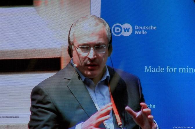 """""""Es ist eine neue Form des Krieges"""" – Khodorkovskys freie Rede im Exil"""