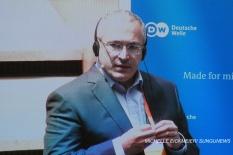 """I am really hoping for a soft transition of power."" – Mikhail Khodorkovsky. MICHELLE EICKMEIER/ SUNGUNEWS"