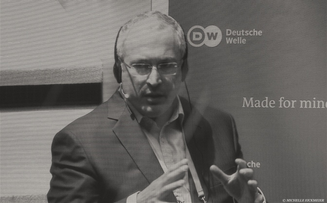 Mikhail Khodorkovsky about Russian media, freedom of expression and democracy