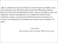 Radioansprache Deutsche Hörer, BBC am 27. Juni 1943